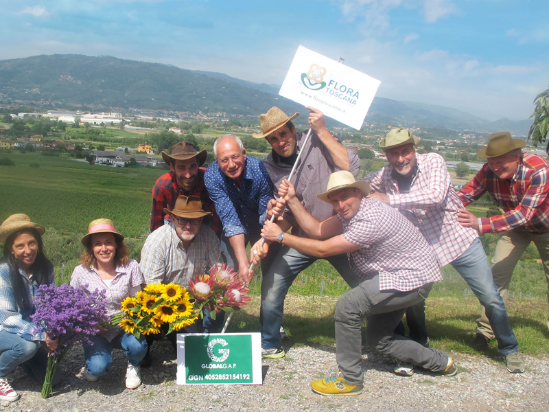 Flora Toscana ottiene la certificazione GlobalGAP