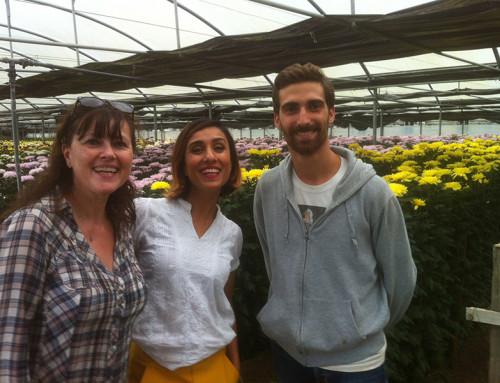 BBC Television interviews Flora Toscana
