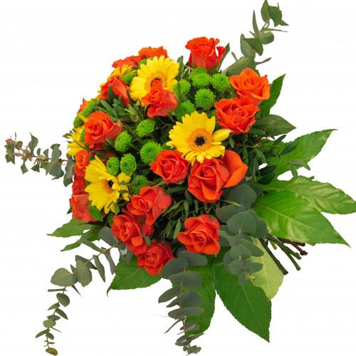 Bouquet arancio giallo