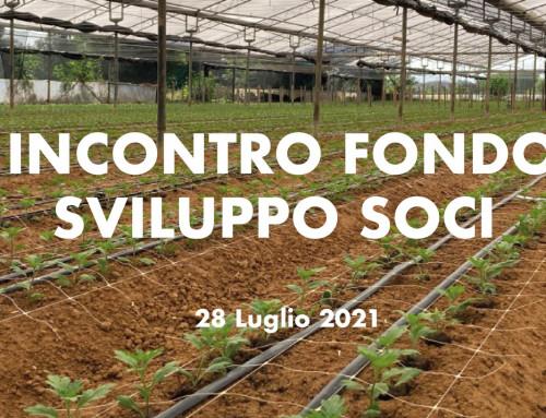 Incontro Fondo Sviluppo Soci